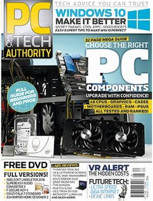 PC & Tech Authority Magazine Issue: May 2016