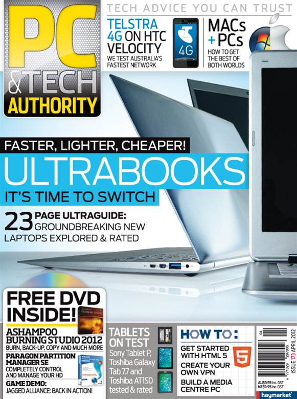 PC & Tech Authority Magazine Issue: April, 2012