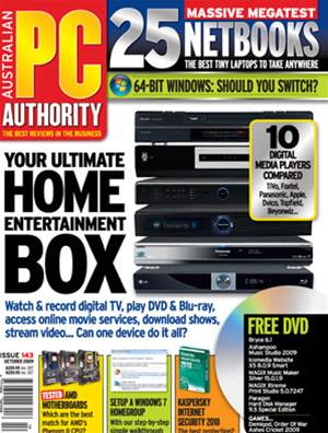 PC & Tech Authority Magazine Issue: October, 2009