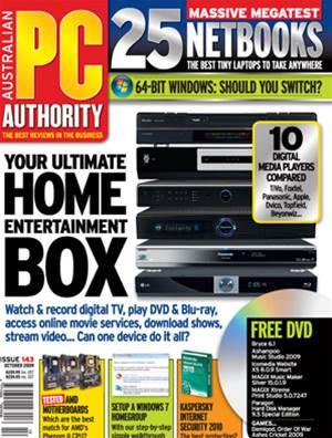 PC & Tech Authority Magazine Issue: October, 2009