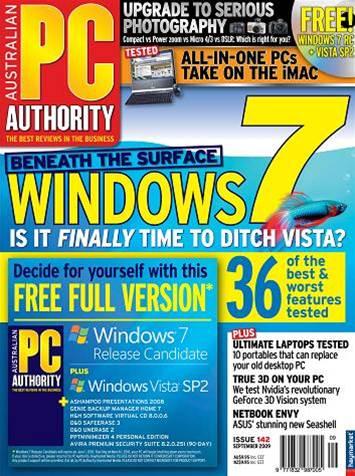 PC & Tech Authority Magazine Issue: September, 2009