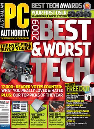 PC & Tech Authority Magazine Issue: January, 2010