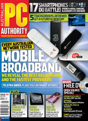 PC & Tech Authority Magazine Issue: May, 2010