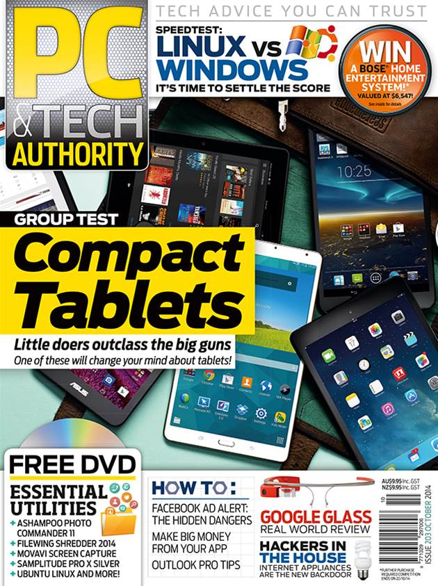 PC & Tech Authority Magazine Issue: October 2014