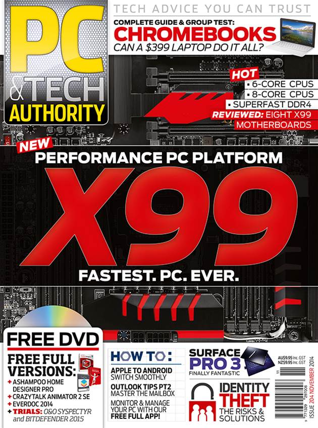 PC & Tech Authority Magazine Issue: November 2014