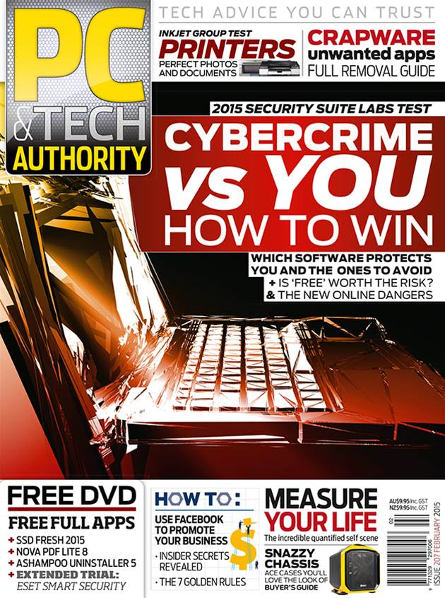 PC & Tech Authority Magazine Issue: February 2015