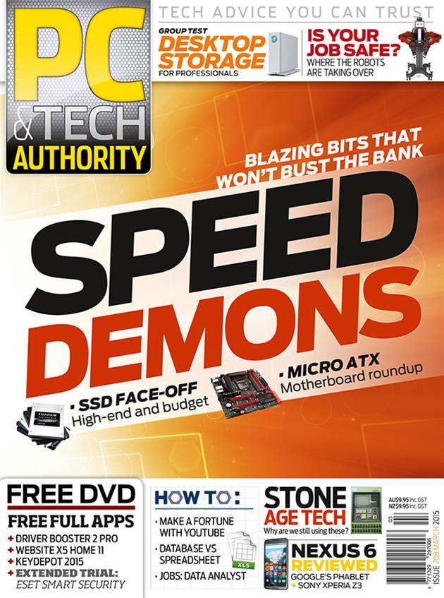 PC & Tech Authority Magazine Issue: March 2015