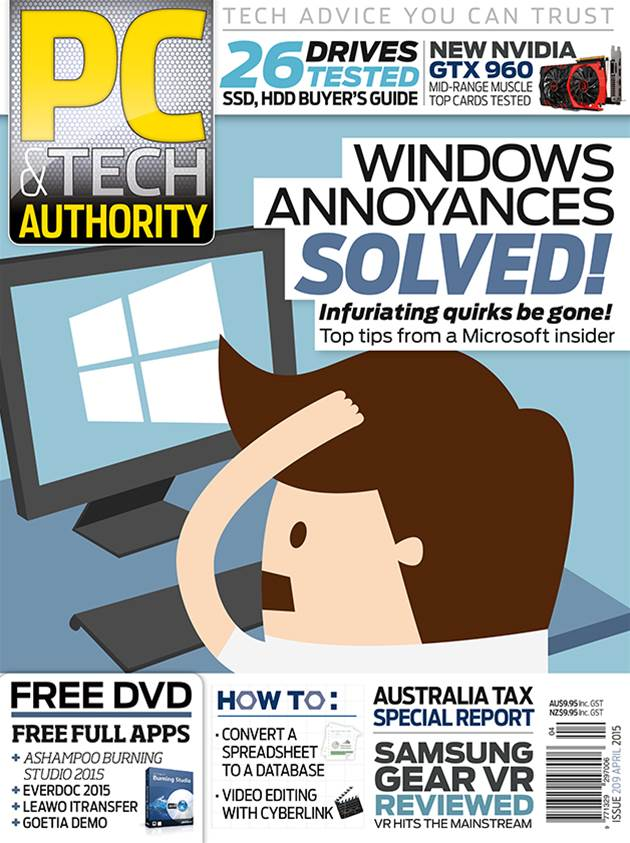 PC & Tech Authority Magazine Issue: April 2015