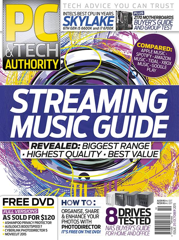 PC & Tech Authority Magazine Issue: October 2015