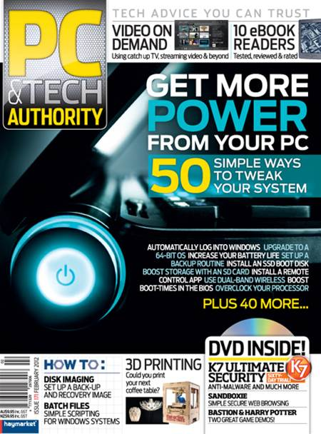 PC & Tech Authority Magazine Issue: Feb, 2012
