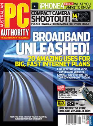 PC & Tech Authority Magazine Issue: September, 2010