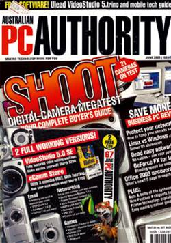 PC & Tech Authority Magazine Issue: June, 2003