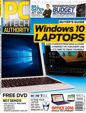 PC & Tech Authority Magazine Issue: December 2015
