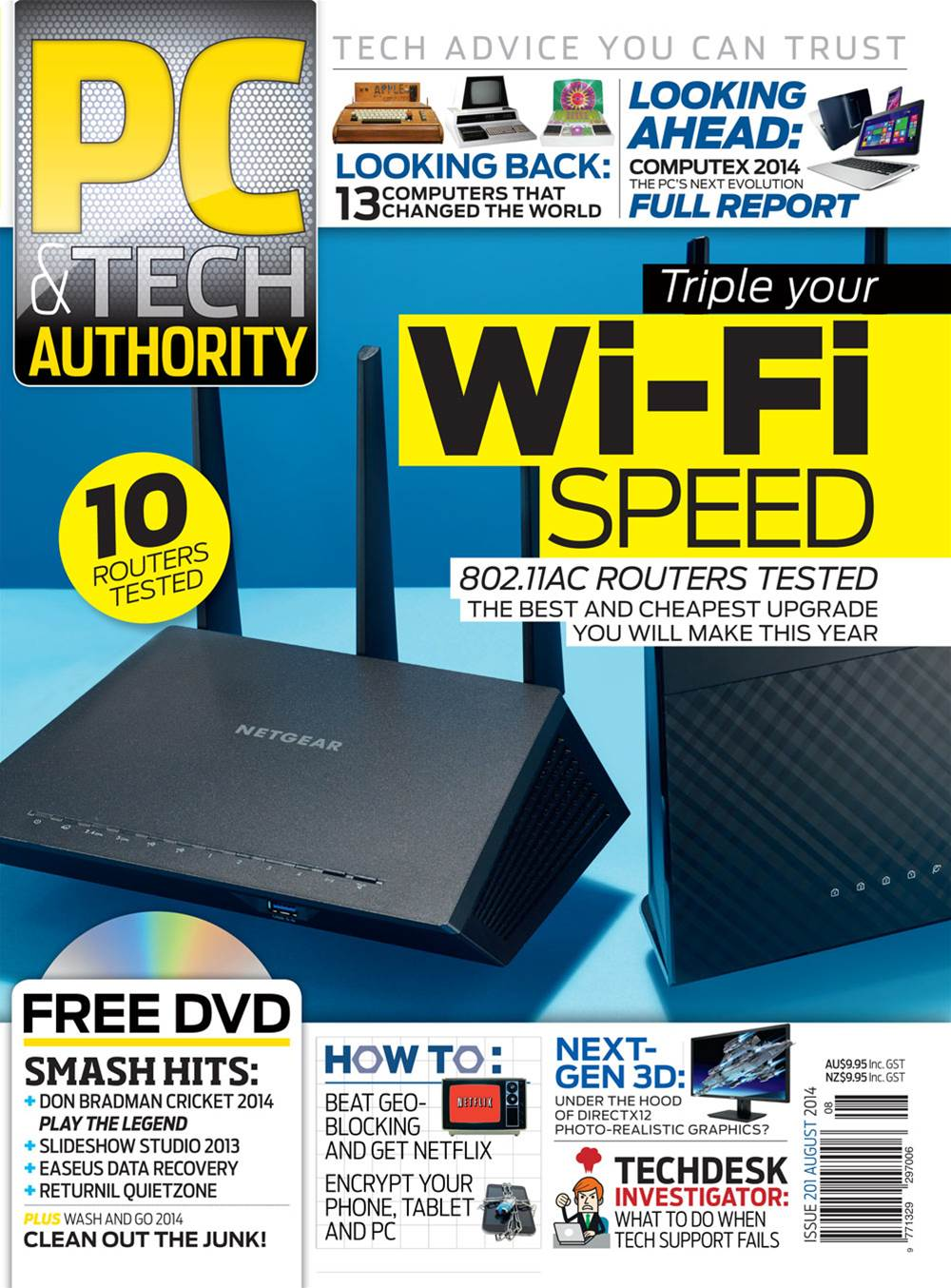 PC & Tech Authority Magazine Issue: August 2014