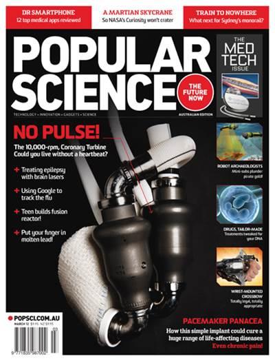 PopSci #40 - March 2012