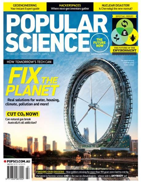 PopSci #44 - July 2012