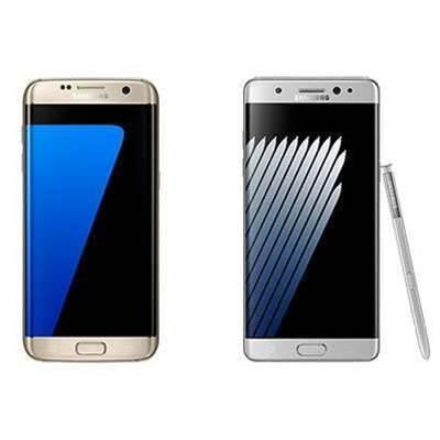 Samsung Galaxy Note7 vs Samsung Galaxy S7