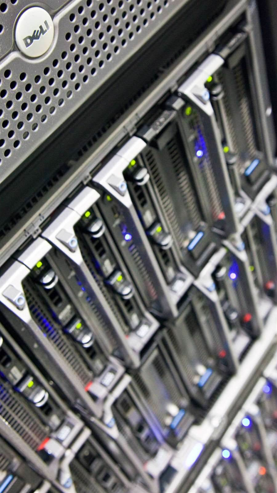 Blade servers in the Sydney Pegasus Data Centre.