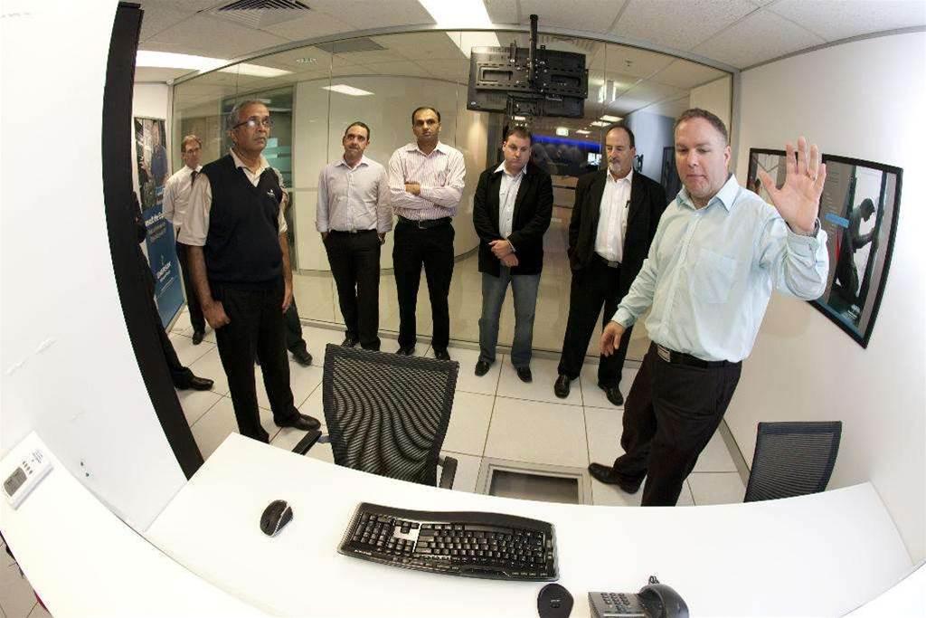 Photos: Inside Emerson's demo data centre