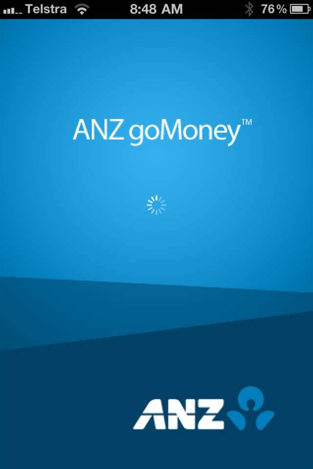 Sneak Peak: ANZ's goMoney iPhone app