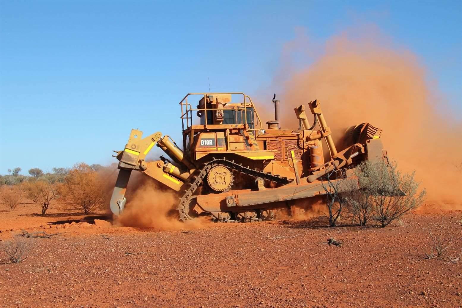Photos: Desert backhaul diggers - Part II