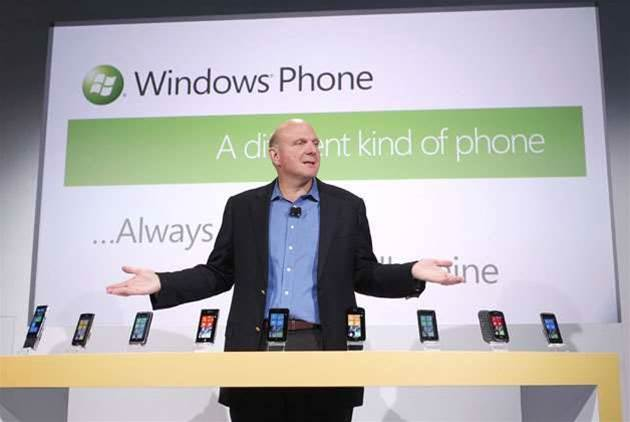 Photos: Windows 7 Mobile launch