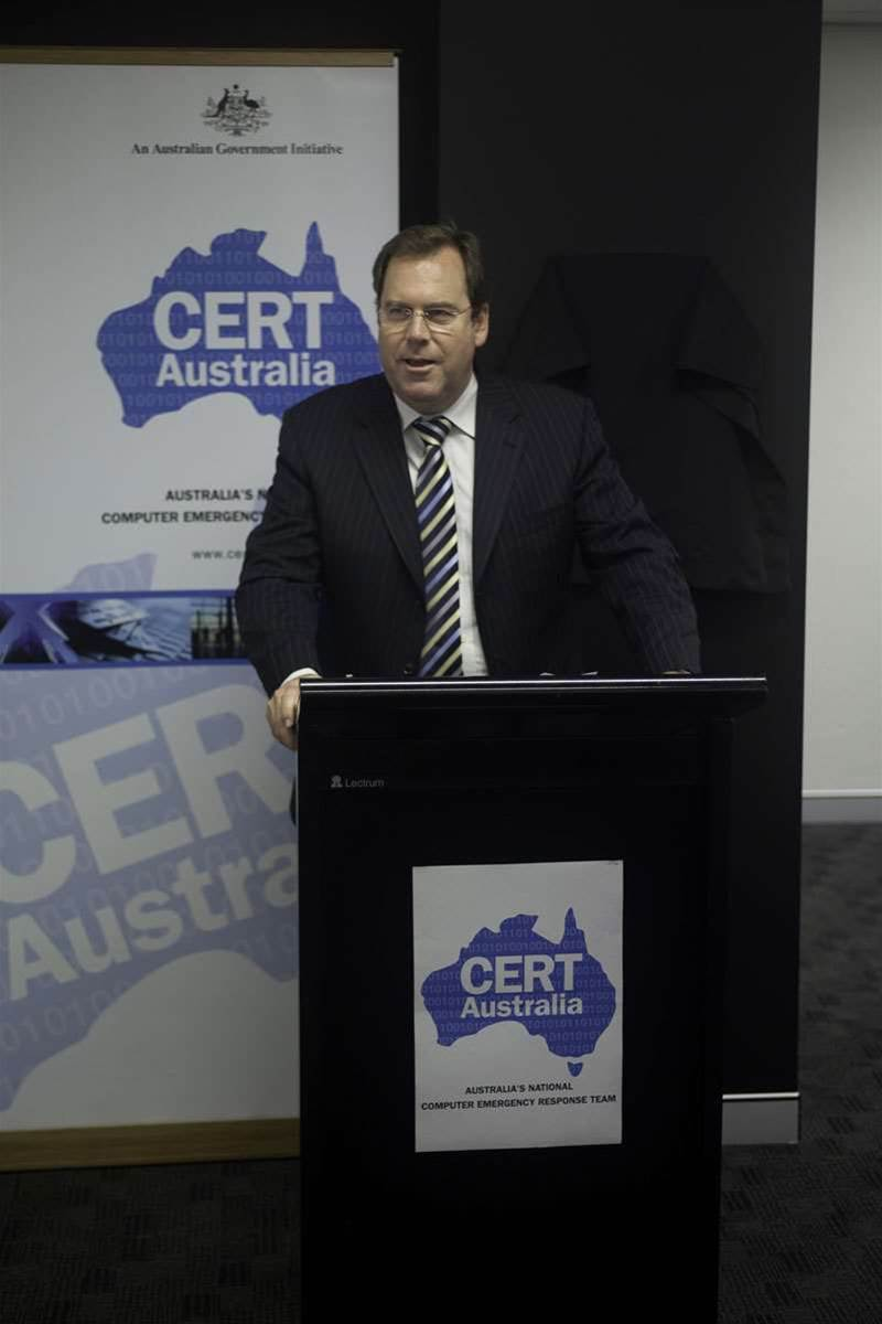 Attorney-General Robert McClelland discusses CERT's role. CERT Australia (computer emergency response team) is essentially a nationalised approach to the role formerly conducted by academics at AusCERT.