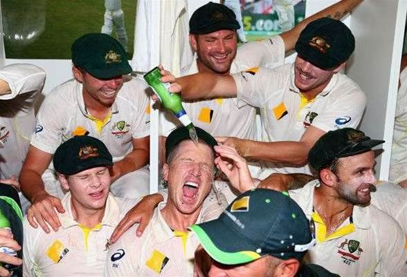 11 wildest photos of cricketers celebrating with beer