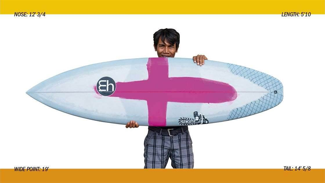 MH surfboards Ground Control