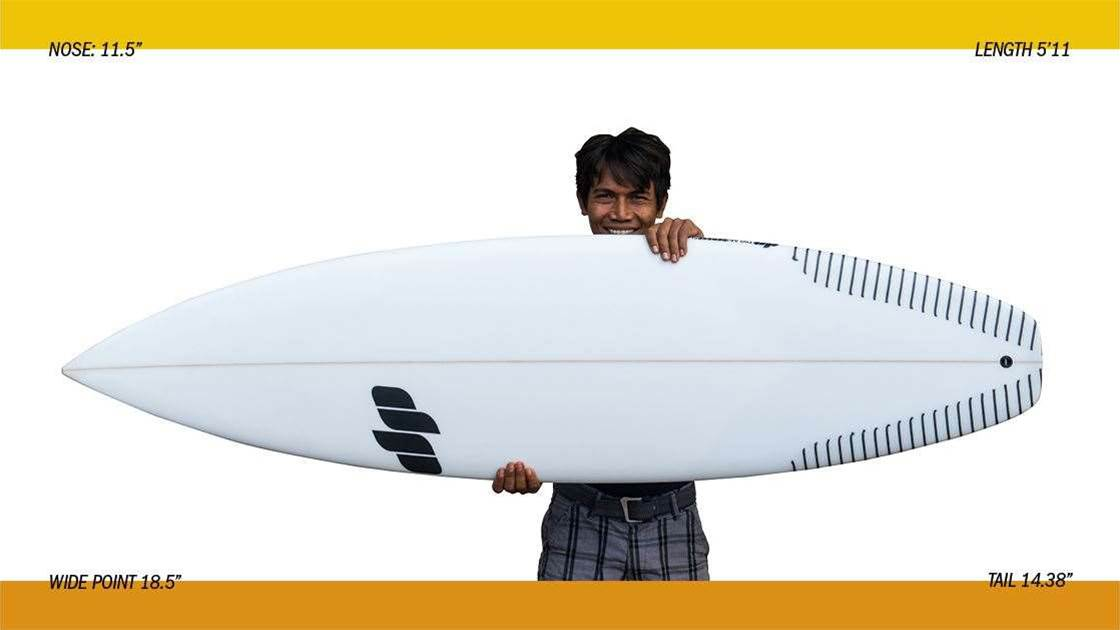 DP Surfboards The Rover