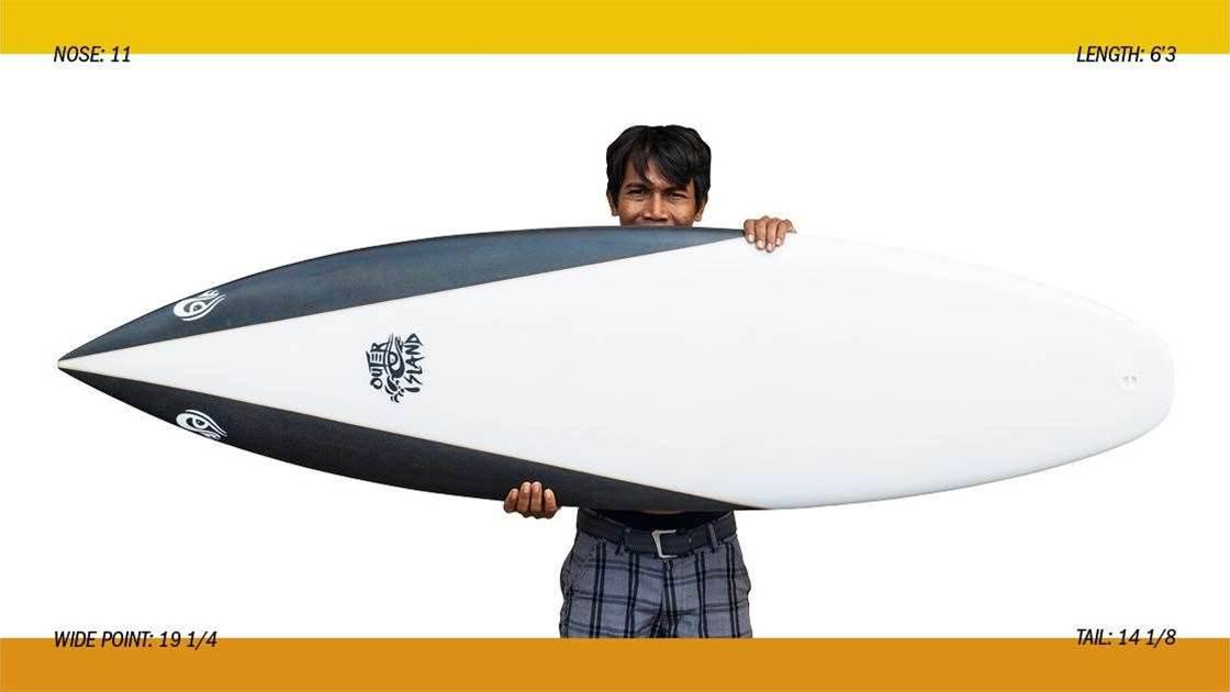 Outer Island Surfboards SmartBoard