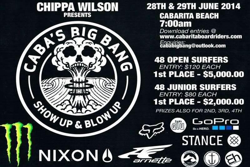 Chippa Wilson Presents Caba's Big Bang