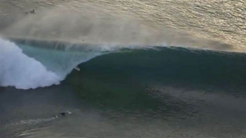 Craig Anderson and Friends Score Pumping Desert Point