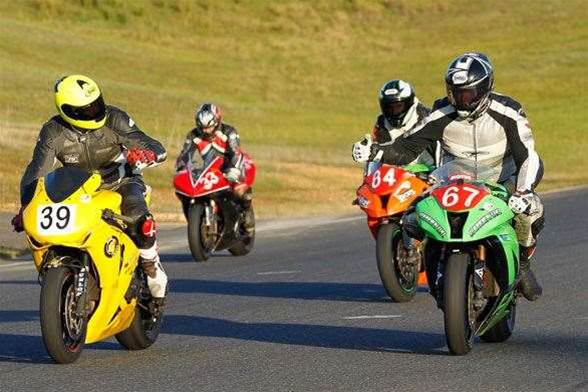 Motorcycling allows riders to choose their own adventure