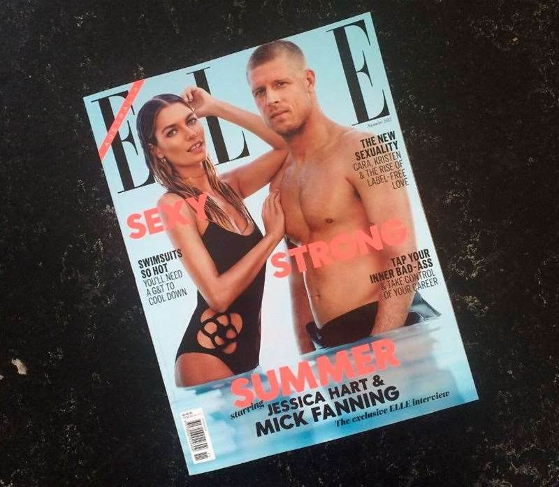 Mick Fanning Becomes The First Man To Land The Cover of Elle