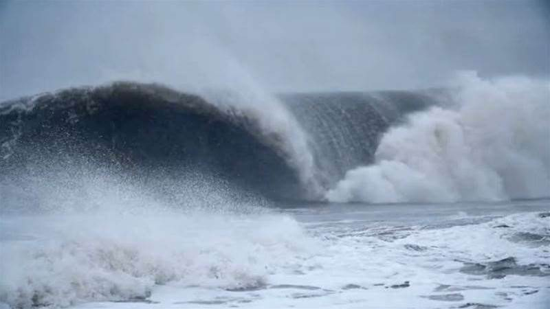 Surfing Freezing Cold Slabs In North Carolina