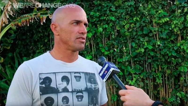 Kelly Slater Speaks His Mind On Politics, GMOs and War