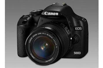 Canon launches HD-shooting EOS 500D DSLR
