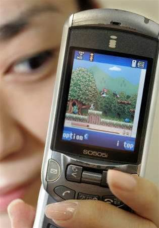 Games on mobile phones becoming serious business