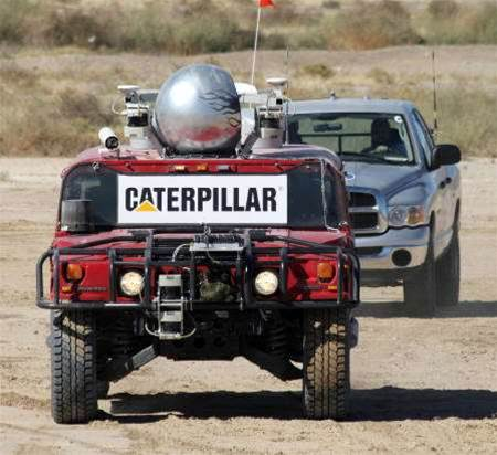 Robot vehicles conquer US desert terrain race