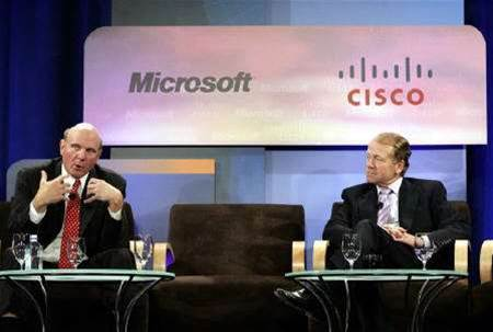 Cisco, Microsoft says competing products to mesh