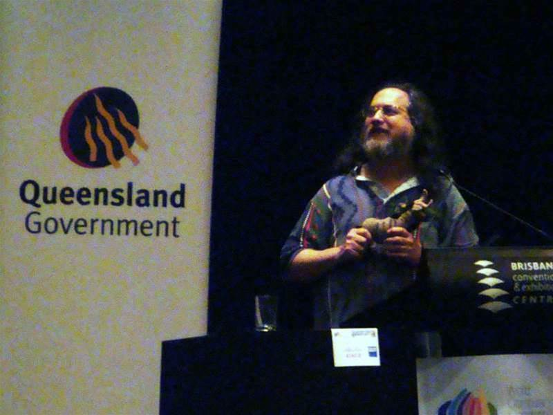 Stallman calls for end to 'war on sharing'