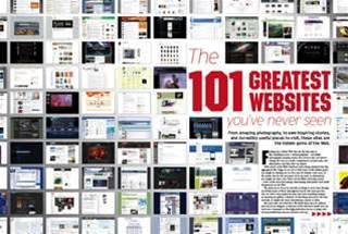 The 101 greatest Web sites you've never seen, plus 13 digital cameras tested