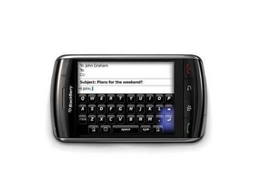 Storm II, cheap Curves coming to Blackberry