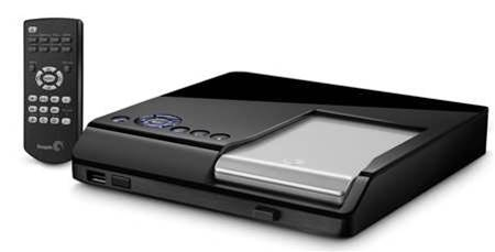 Seagate FreeAgent Theater is a media sharing no Go