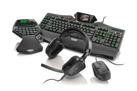 Logitech G-Series unleashes four kinds of awesomeness