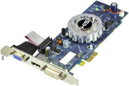 HIS 4350, Club 3D 8400GS cards come in PCIe 1x flavours