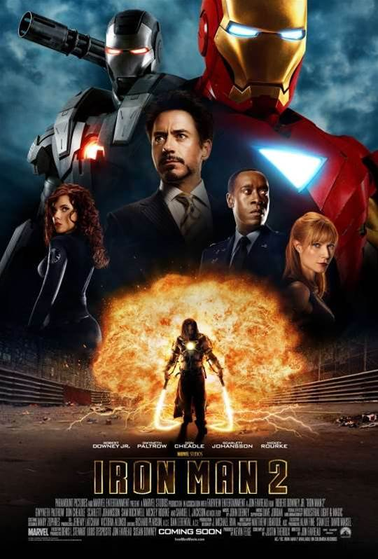 New Iron Man 2 poster