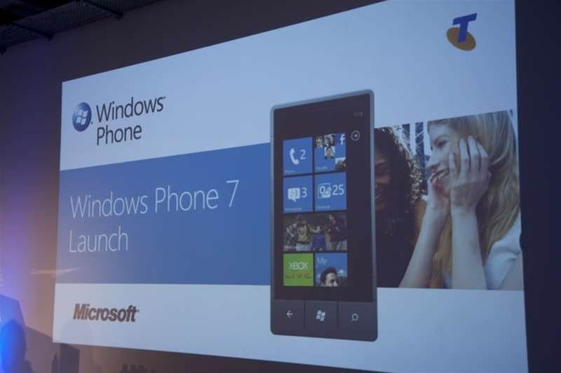 Windows Phone 7 available across a spread of channels