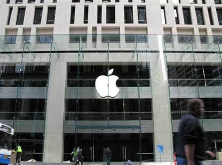 Wraps come off Sydney Apple store